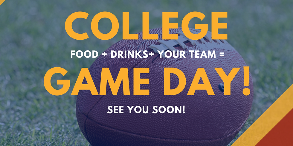 College Game Day - ALL DAY LONG!