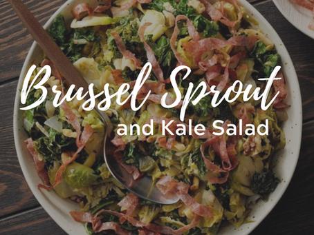 Brussel Sprouts & Kale Sauté