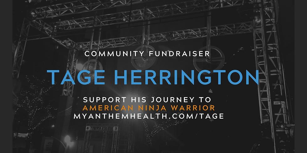 Community Fundraiser for Tage Herrington