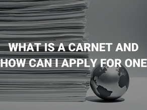 What is a Carnet and how can I apply for one?