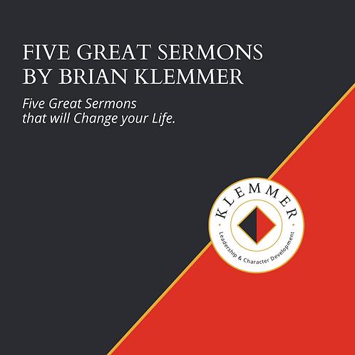 5 Great Sermons