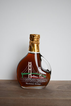 Maple Syrup Basque Mackinaw Bridge Bottle