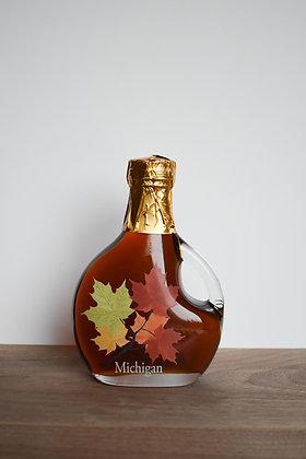 Maple Syrup Basque Leaf Bottle