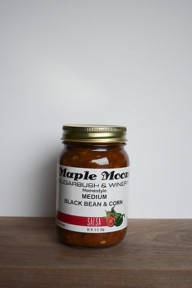 Medium Black Bean and Corn Salsa