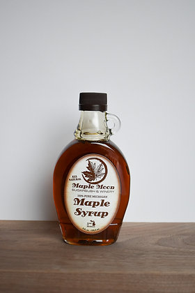 Grade A Maple Syrup Flask Glass Bottle