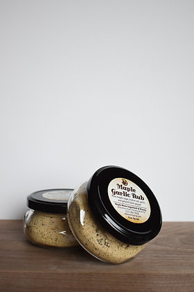 Maple Garlic Rub