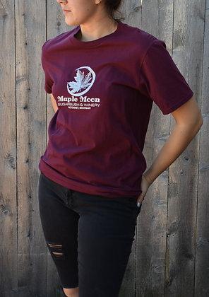 Maple Moon T shirt (Maroon)