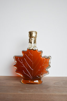 Maple Syrup Leaf Bottle