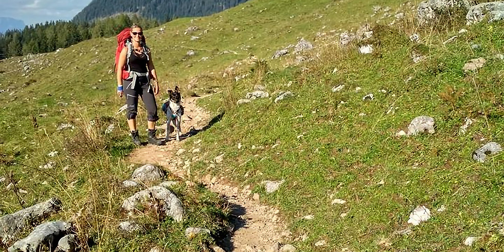 Hüttenwanderung im Ötztal mit Hund