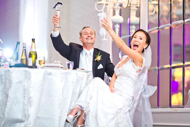 Uptown Bride and Groom