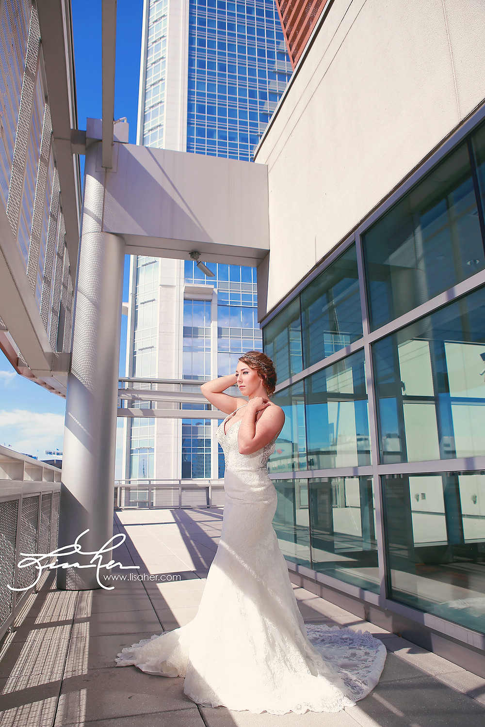 Uptown Bridal Session