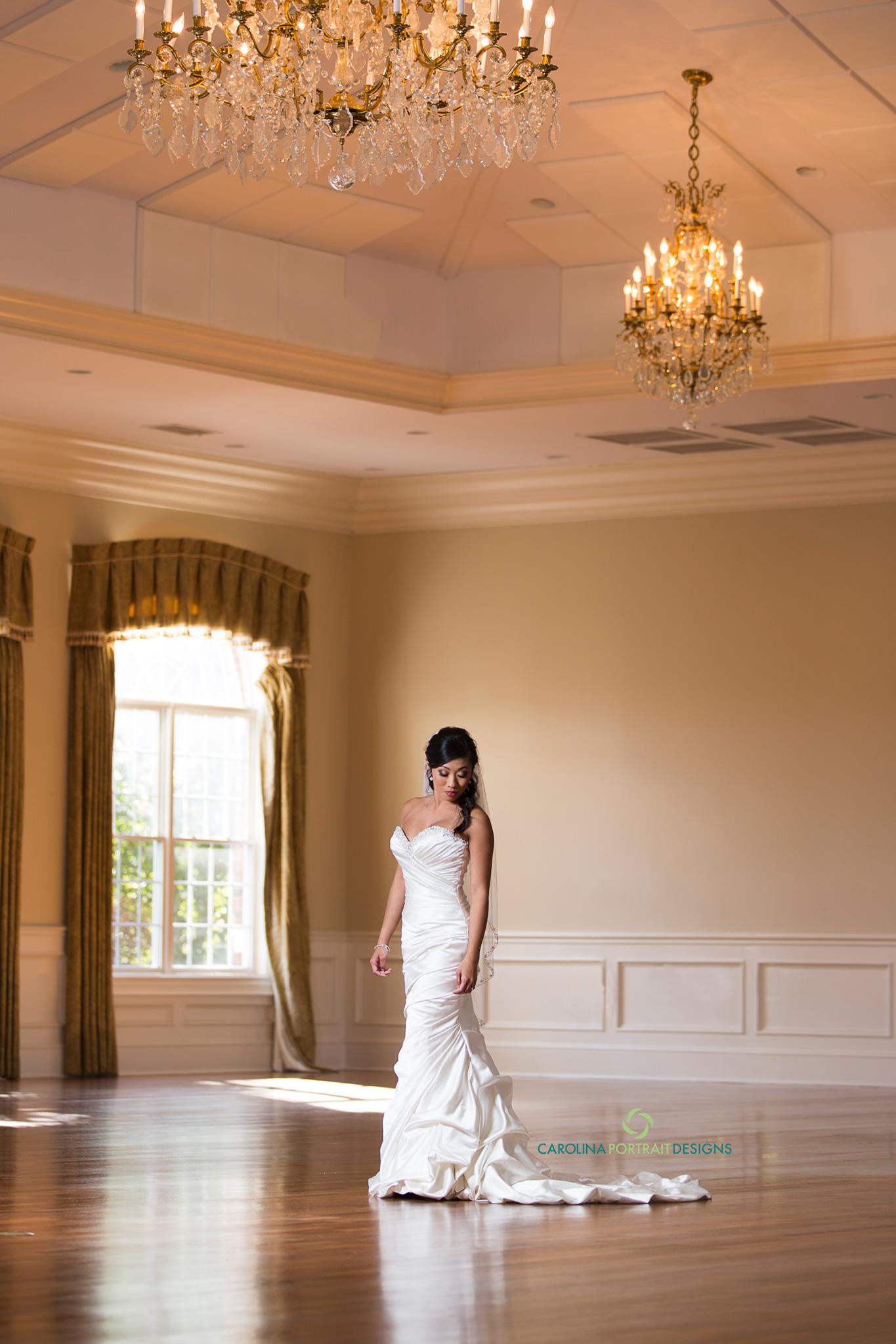 Magnolia Room Bride