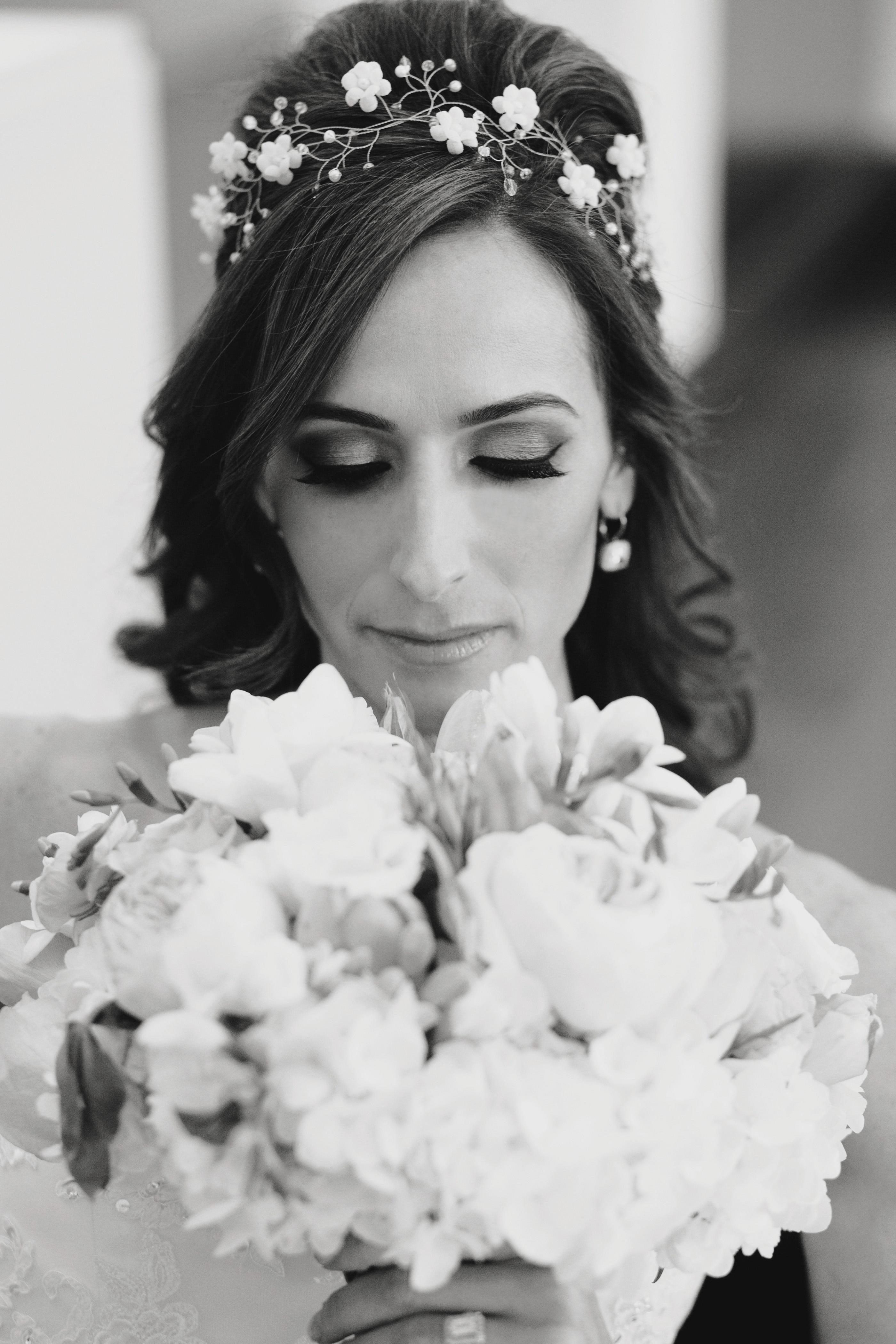 Glam Bridal Makeup and Hair
