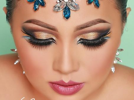 Dramatic Eye Makeup - Triple Winged Liner