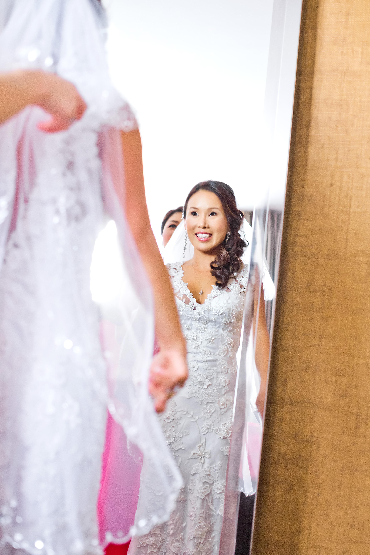 Glowing Asian Korean Bride