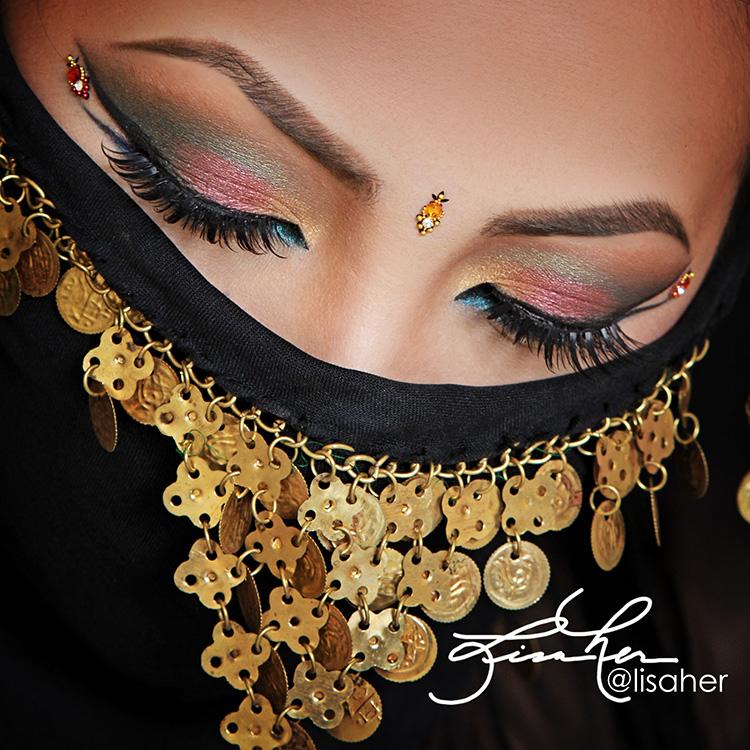 Arabic Eyes by Lisa Her