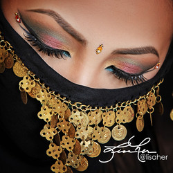 Arabic Eyes by Lisa Her