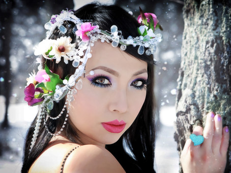 Snow Inspired Makeup Design Collections