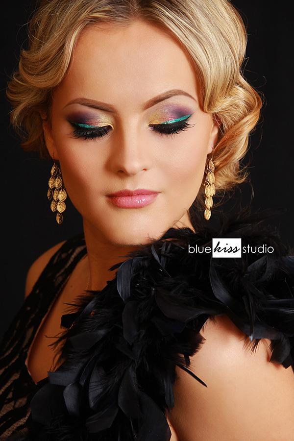 Colorful Bold Glam Eye Makeup