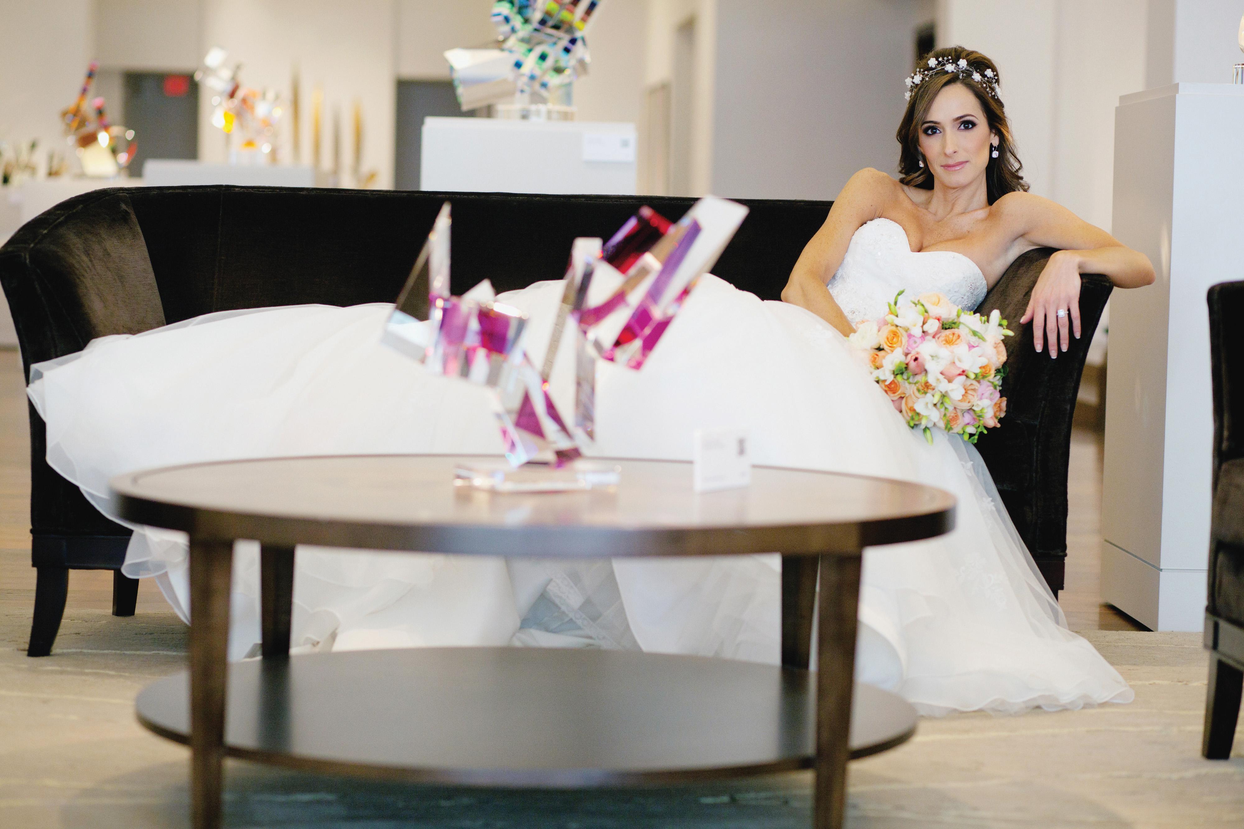 Charlotte NC Uptown Bride