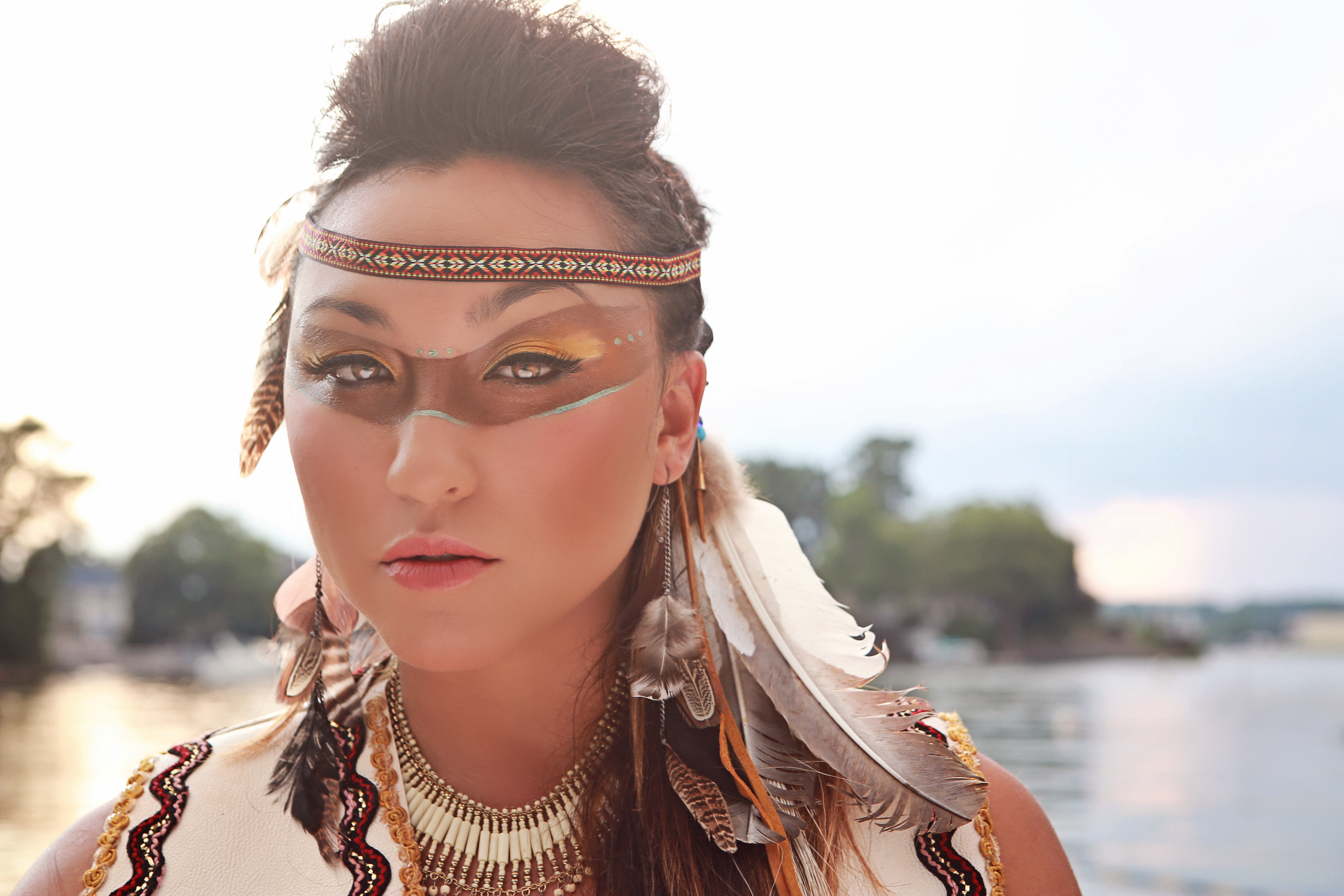 Native American Inspired Makeup