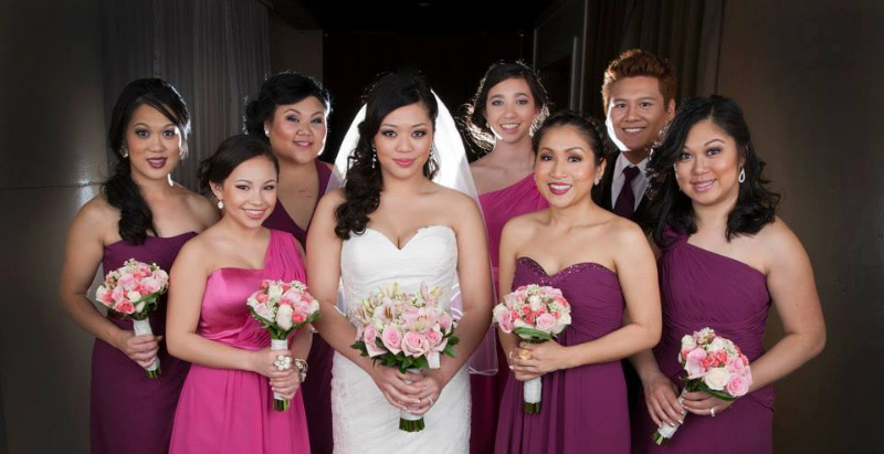 Glamorous Asian Bride and Party