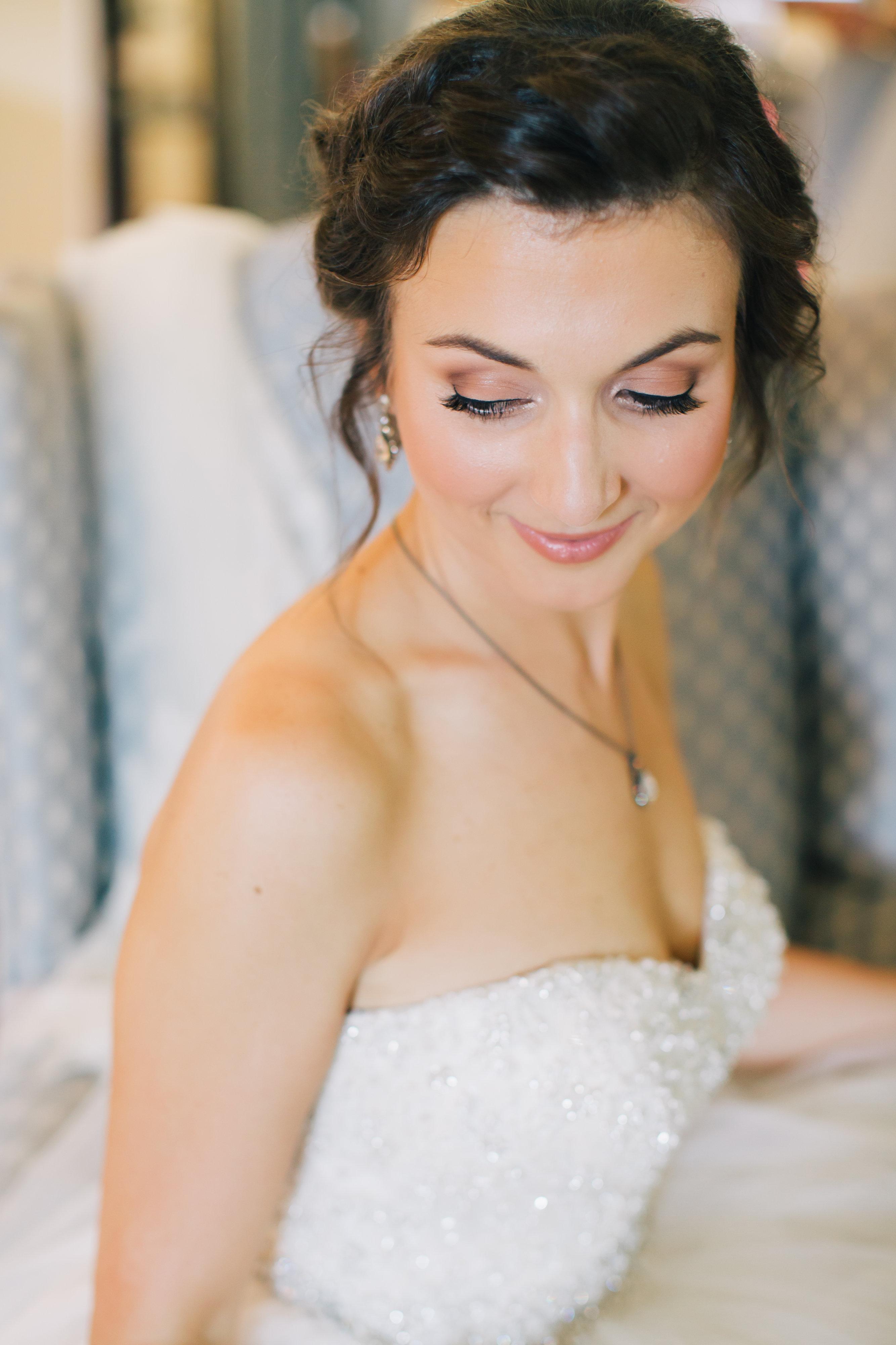 Soft natural bridal makeup Lisa Her