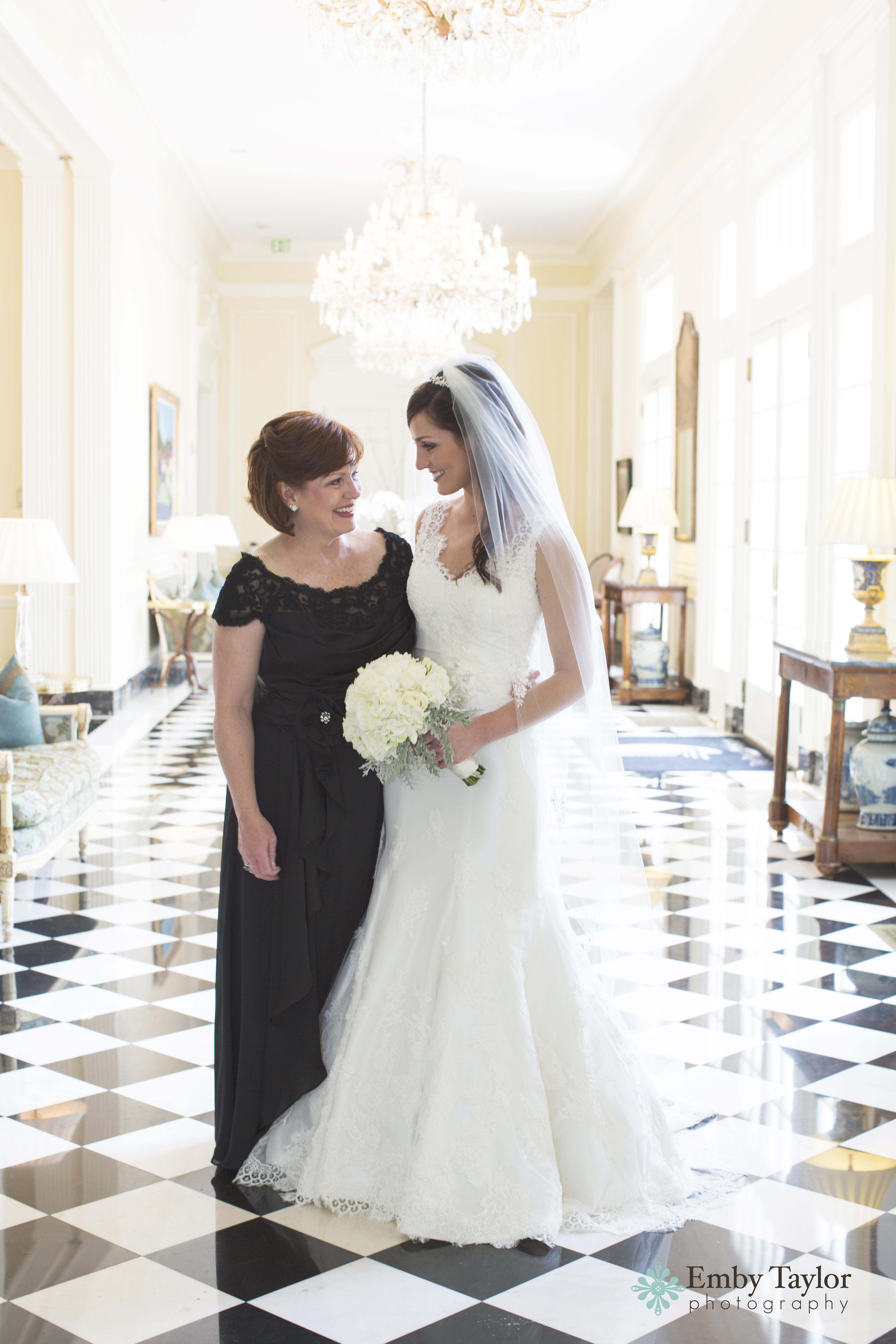 Stunning Southern Bride and Mother