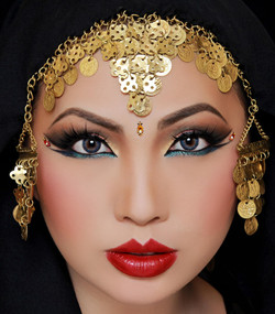 Editorial Arabic Eyes by Lisa Her