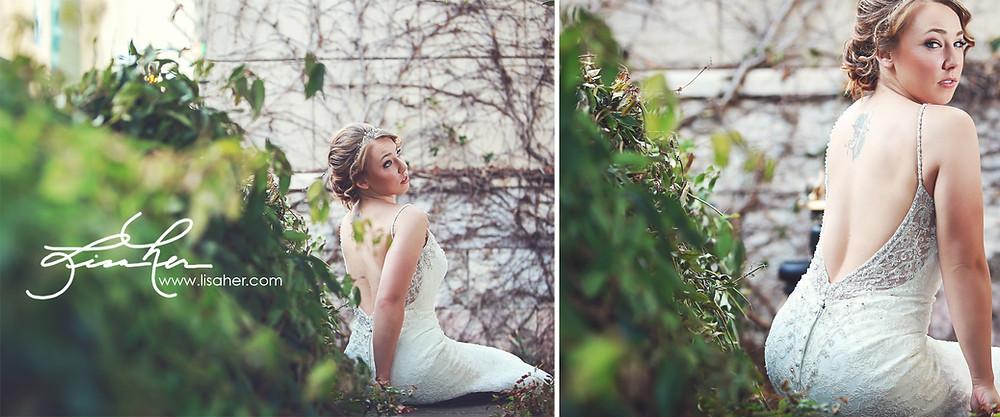 Bridal Portraits at The Green Charlotte NC