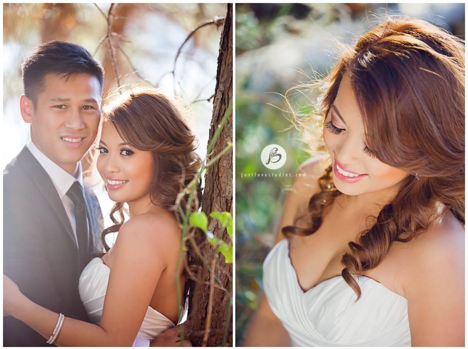 Glowing Romantic Asian Bride
