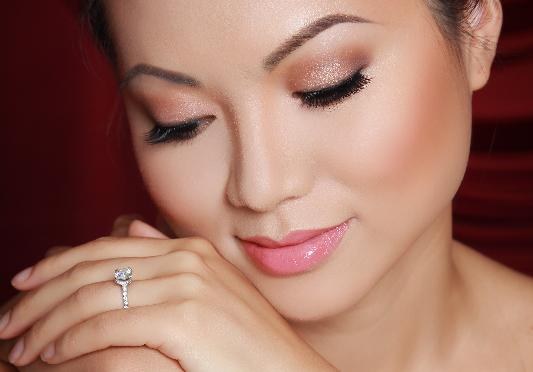 Luminous Flawless Bridal Makeup