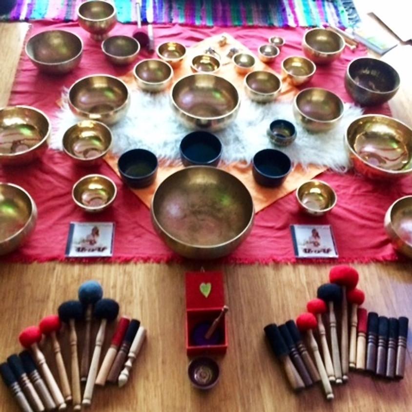 Drum Circle & Singing Bowl Sound Medicine Facilitator Training 3 Days 5/10/19 & 26-27/10/19