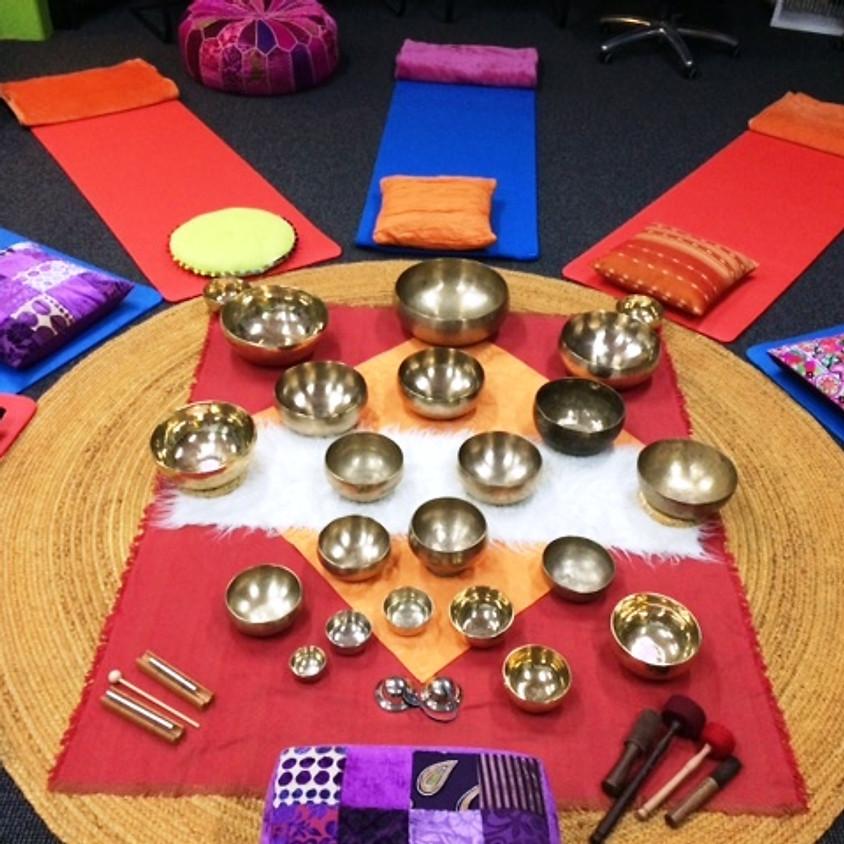 Yin Yoga Sound Healing