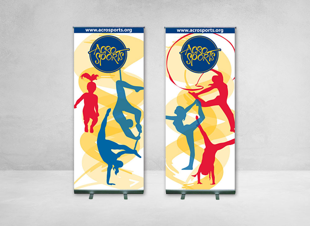 Lobby Banners: AcroSports