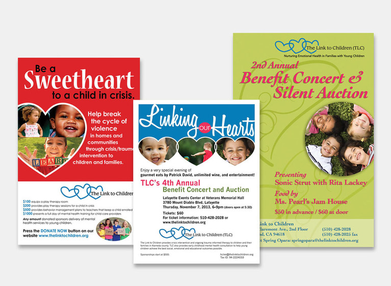 Fundraising Campaign Posters: The Link to Children