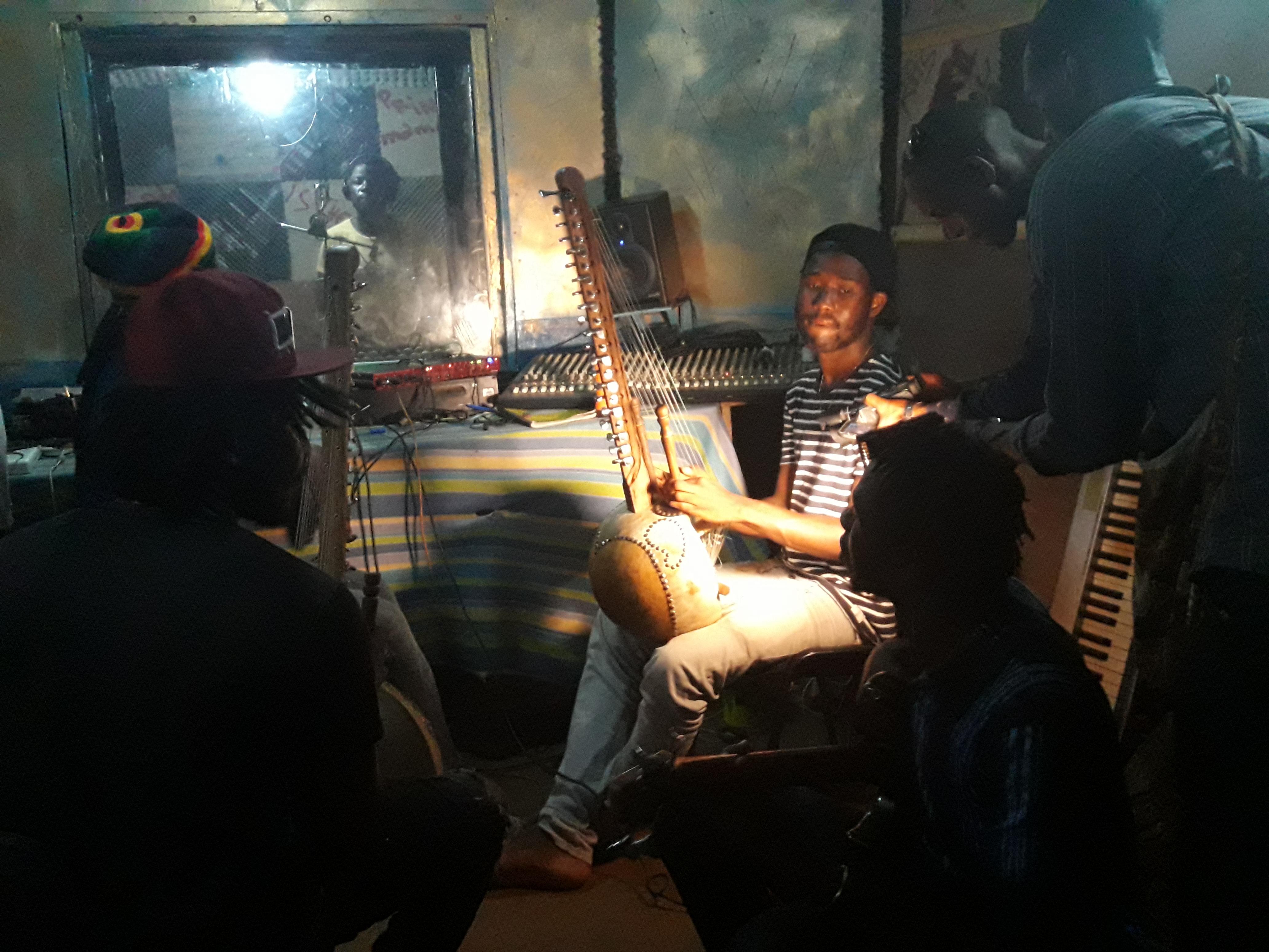 Enregistrement de l'EP-StudioLambany