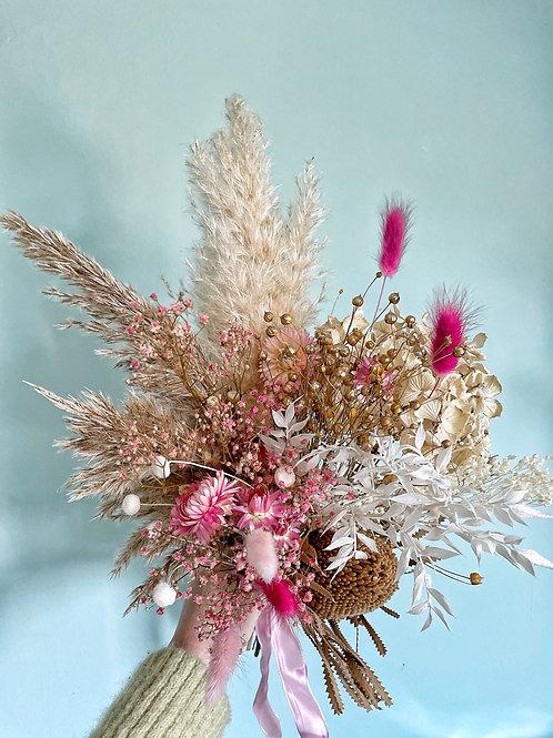 Bouquet de Fleurs Séchées Sweat Brown