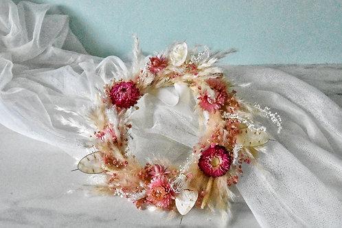 Cutie Wreath Pink & Wild