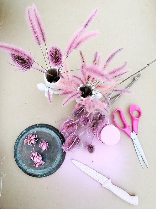 Atelier Samedi 20 Mars 2021 / Bouquet printanier