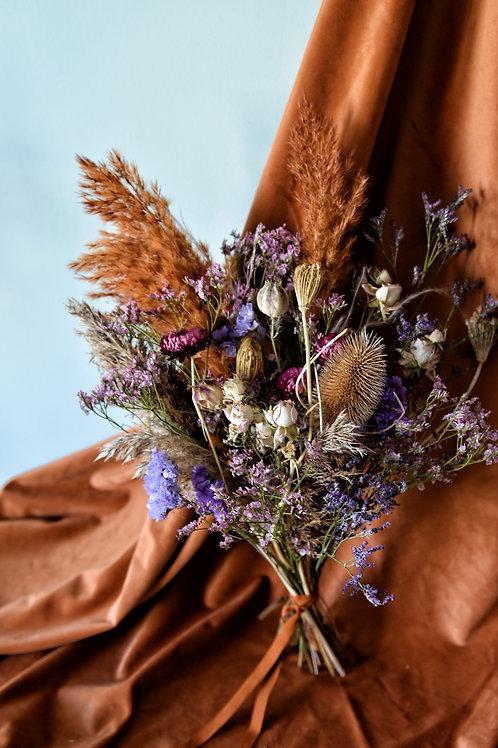 Bouquet de Fleurs Séchées Purple Fo