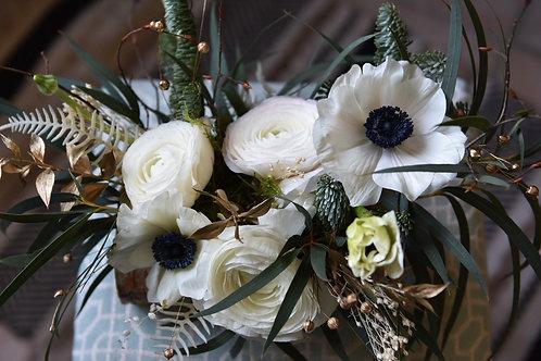 Bûchette de fleurs fraîches