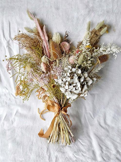 Bouquet de fleurs séchées Pale Yellow