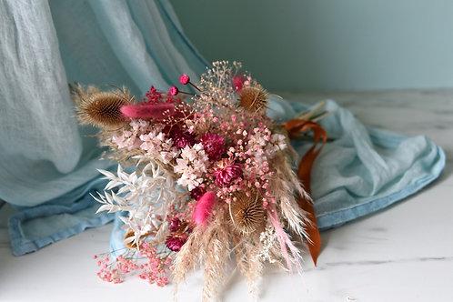 Brown Pink  Bouquet