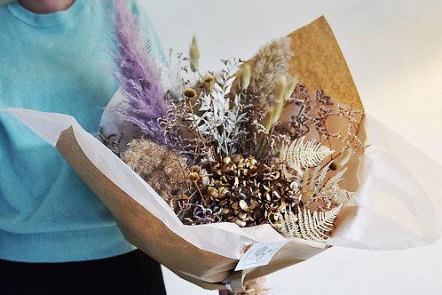 Bouquet de fleurs séchées taille L