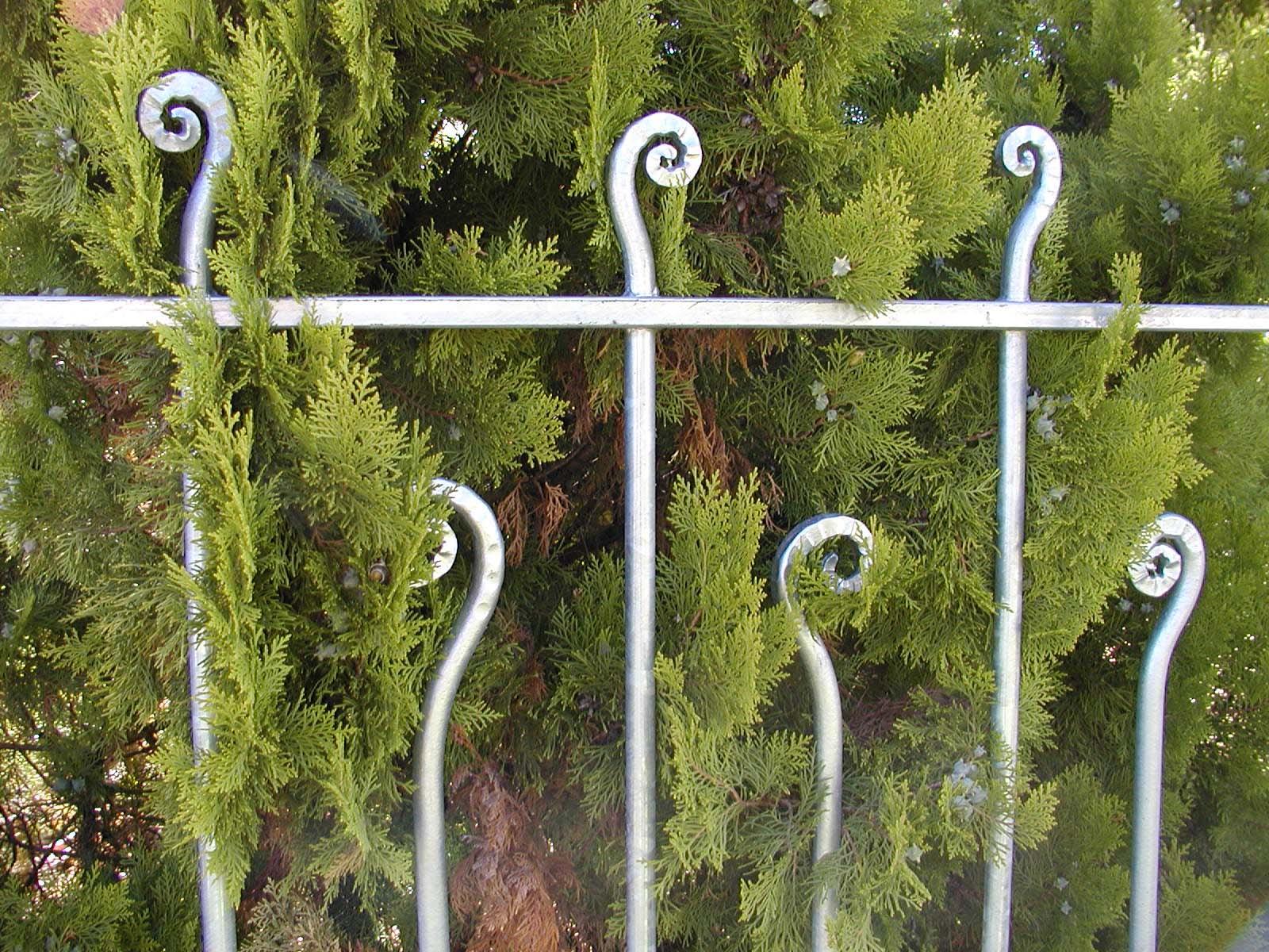 détail clôture