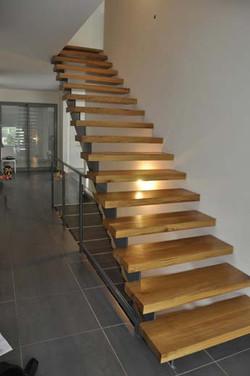 escalier en applique
