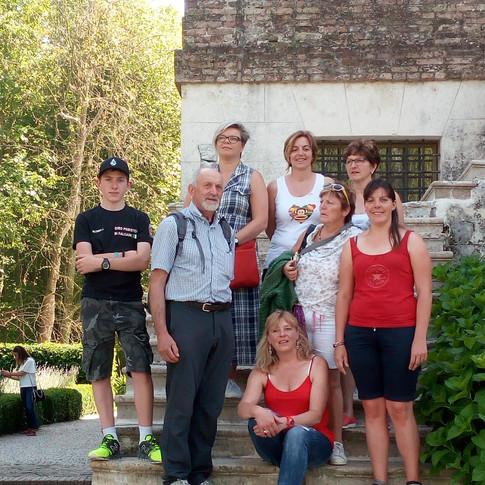 In gita con Gruppo Folk Union ladina Val Biois