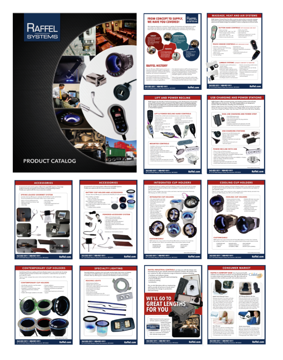 Raffel Product Catalog