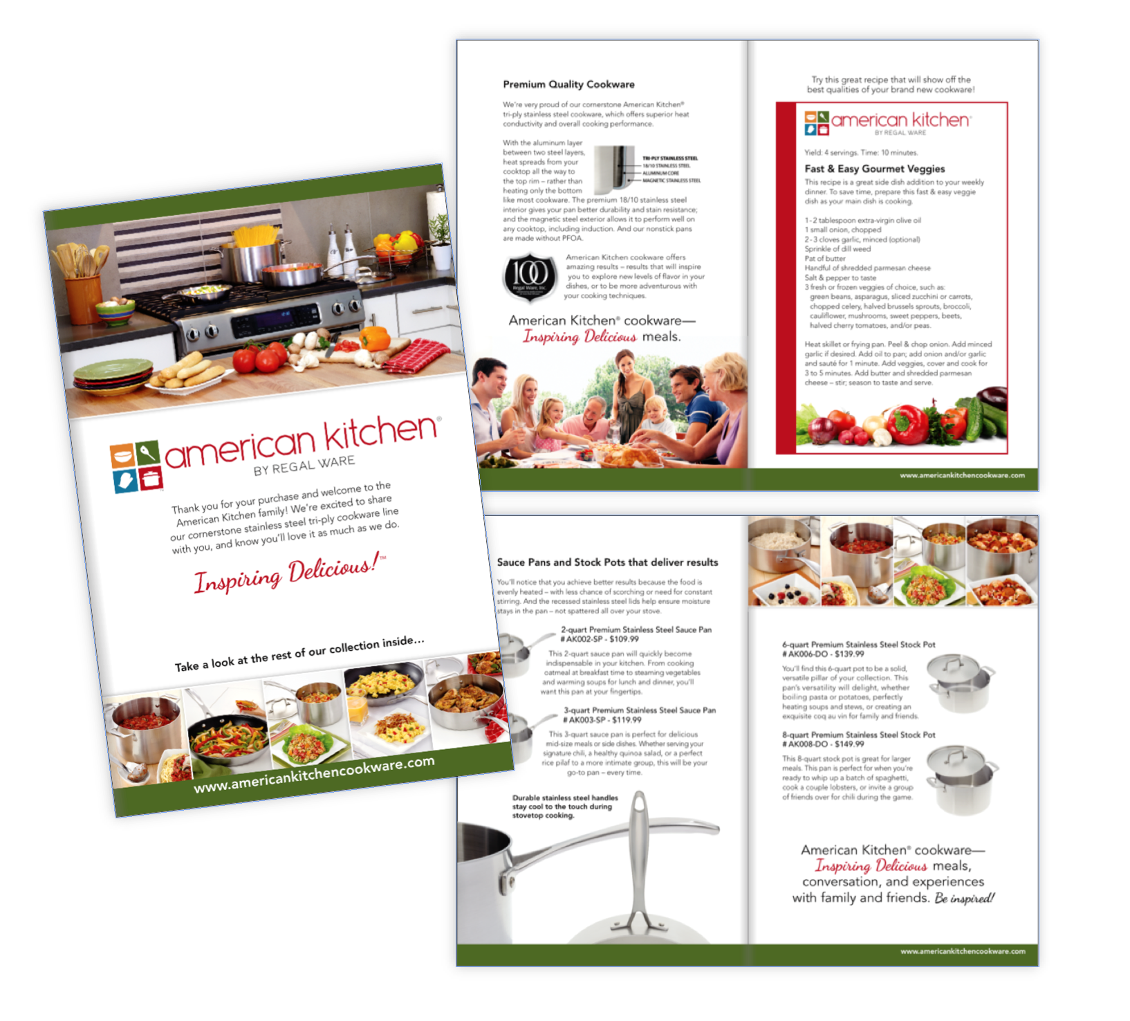 American Kitchen product brochure